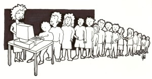 ©GWegman Introductie van de Comeniuscomputer in de basisschool