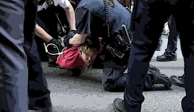 probleemjongere-arrest-poster