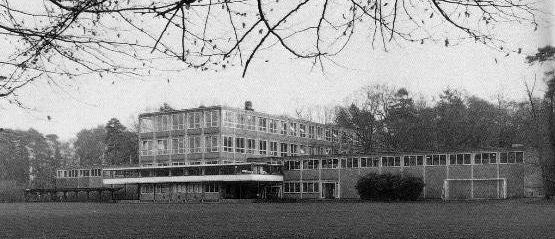 Het Nieuwe Lyceum in de jaren '70 in Hilversum